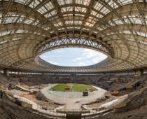 Собянин: Реконструкция стадиона «Лужники» будет завершена раньше срока