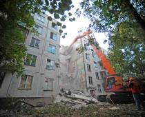 В столице снесли 92% ветхих пятиэтажек