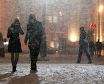 В связи с непогодой в Москве объявлен оранжевый уровень опасности