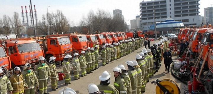 В Москве создана 30-тысячная группировка для борьбы с природными пожарами