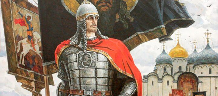 Молодые оборонщики России реконструировали образ Александра Невского в фотографиях