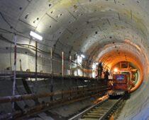 В Москве с начала года построили 11 км тоннелей метро
