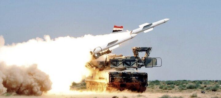 Армия Сирии отразила атаку израильских F-16 с помощью комплексов ПВО «Бук-М2Э»
