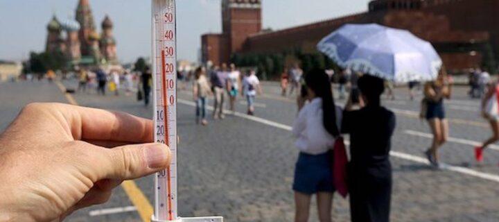 В Москве из-за жары объявлен «оранжевый» уровень опасности