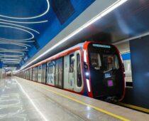 Парк столичного метрополитена пополнили новые поезда «Москва-2020»