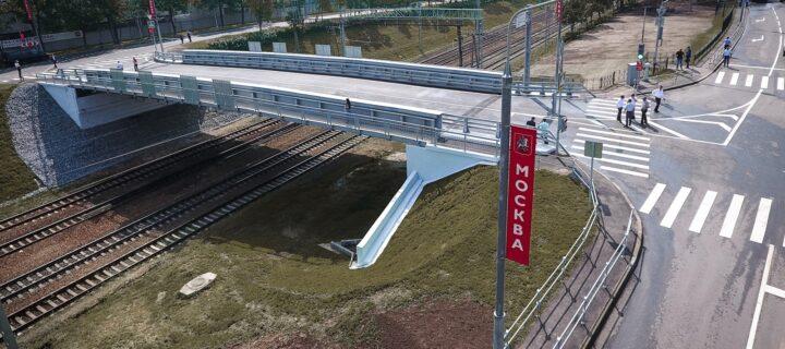 До 2024 года в Москве построят 12 железнодорожных путепроводов