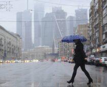 За ночь в Москве выпала пятая часть месячной нормы осадков