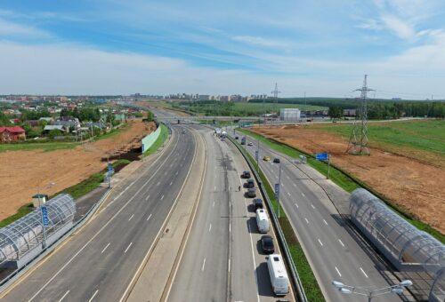 В новой Москве к 2025 году построят около 200 км дорог
