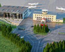 В 2022 году планируется обновление фасада аэропорта Курска