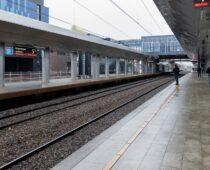 Пригородный вокзал «Апрелевка» открыли в Москве после реконструкции
