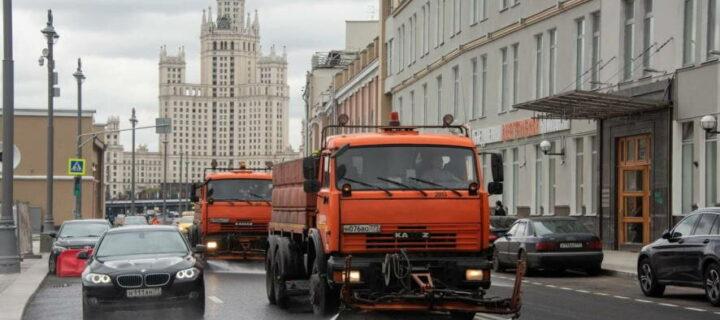 В канун 874-летия Москву помыли и покрасили