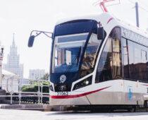 В Москве начали создавать беспилотный трамвай
