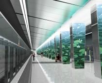 Началось строительство одного из вестибюлей станции метро «Очаково»