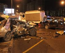 Два человека погибли в ДТП на юго-западе Москвы