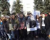 У посольства Украины в Москве скандируют «Савченко за решетку!»