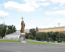 Установку памятника князю Владимиру в Москве отложили на неопределенный срок
