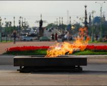 Вечный огонь и тюльпан станут главными символами оформления Москвы к 9 Мая