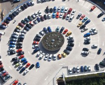 Почти 170 тыс. парковочных мест планируют создать в Подмосковье в 2016 г
