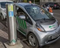 В зоне платных парковок Москвы появились электропарконы