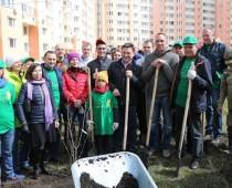 На субботник в Московской области вышли 600 тысяч человек