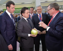 Губернатор Московской области открыл агрофорум «ОвощКульт»