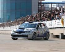 22–23 апреля Москва проводит автомобильное Rally Masters Show