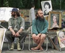 Художники и букинисты возвращаются на Арбат