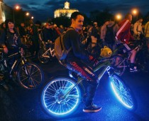 Второй ночной Московский велопарад пройдет 2 июля