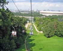 На Воробьевых горах построят канатную дорогу и спортшколу