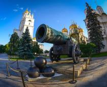 Тактильные копии Царь-пушки и соборов появятся на территории Кремля