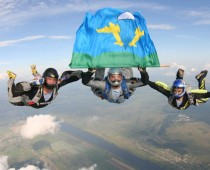 В Подмосковье пройдет чемпионат мира по парашютному спорту среди военных