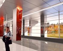 Станция московского метро «Мичуринский проспект» будет полуподземной
