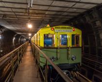 В московском метро пройдет ночная экскурсия на ретро-поезде 1935 года выпуска