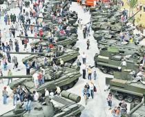 Более 500 единиц военной техники покажут на форуме «Армия-2016»