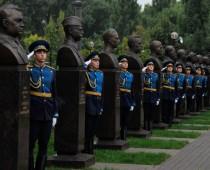 В Воронеже открылся мемориал «Аллея героев»