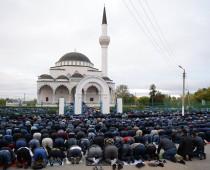 В Московской соборной мечети завершились торжества по случаю праздника Курбан-байрама