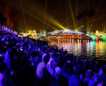 Проекцию Керченского моста из воды и лучей лазера создадут на фестивале «Круг света»