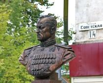 В Смоленской области открыли бюст маршала Рокоссовского