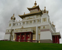 В Москве начато строительство первого буддистского храма