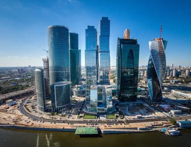 Новый комплекс жилых небоскребов появится рядом с деловым центром «Москва-Сити»
