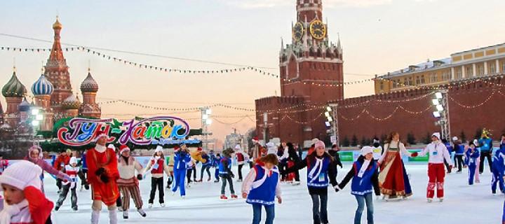 Почти 1500 катков откроется в Москве предстоящей зимой