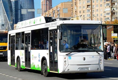 «Мострансавто» тестирует модернизированный электробус КАМАЗ