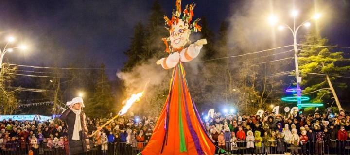 Фестиваль «Московская Масленица» посетило более 800 тыс человек