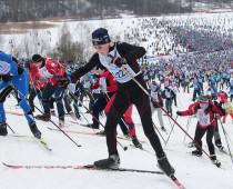 Участниками «Московской лыжни — 2017» стали более 15 тысяч человек