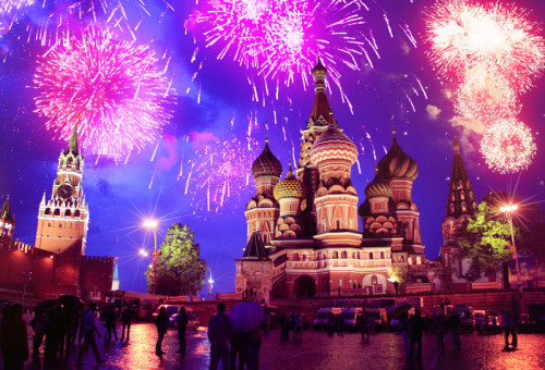 В День Защитника Отечества небо над Москвой раскрасит праздничный салют