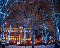 В Москве 1 апреля отключат осенне-зимнюю иллюминацию
