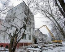 Более 60 ветхих пятиэтажек снесут в столице до конца года