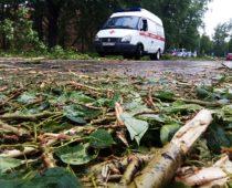 После урагана в больницах Москвы остаются 108 человек