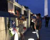 Делегация Минобороны России приняла участие в акции «Свеча памяти» в Вашингтоне