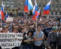 Митинги оппозиции в регионах Центральной России прошли без происшествий